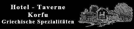 Hotel Taverne Korfu Geiselhöring Logo